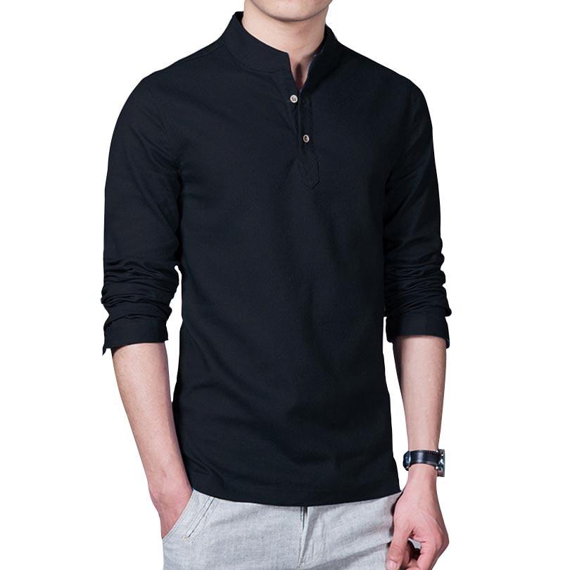 Online Buy Wholesale Mandarin Collar Shirt For Men From