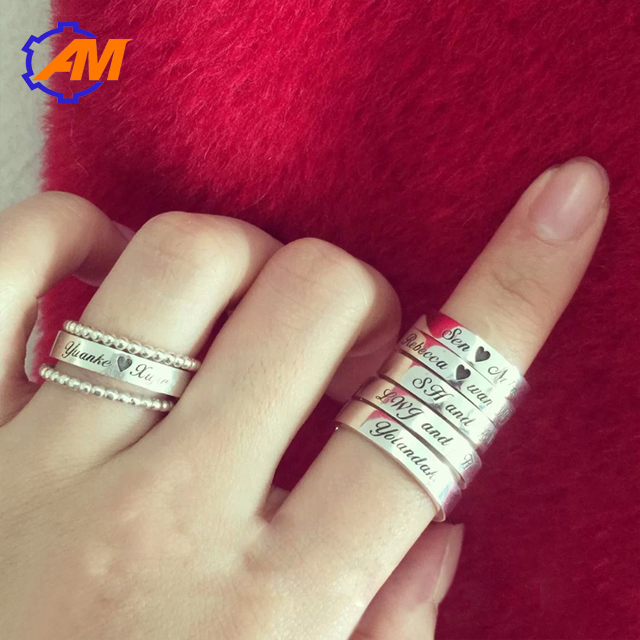 Jewelry Engraving Machine Ring Engraver Gold Silver Chain Bangle Bracelets Stainless Metal Engraving Machine