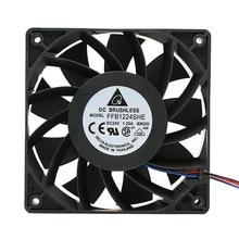 Voor delta FFB1224SHE 12038 24 v 1.20 5500 RPM big air volume converter koelventilator voor 120*120 * 38mm