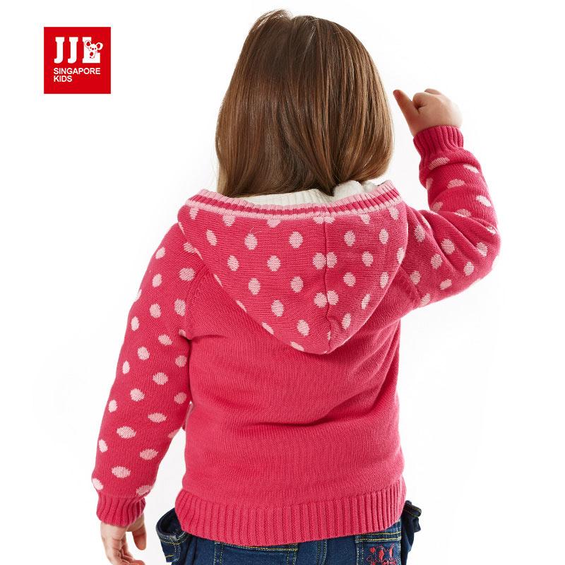 baby girls sweater coat fur lining kids coat baby winter coat kids ...