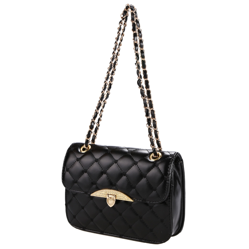62e93e62b5 Lady Women Hobo PU Leather Messenger Handbag Shoulder Bag Totes Purse Korean-in  Shoulder Bags from Luggage   Bags on Aliexpress.com