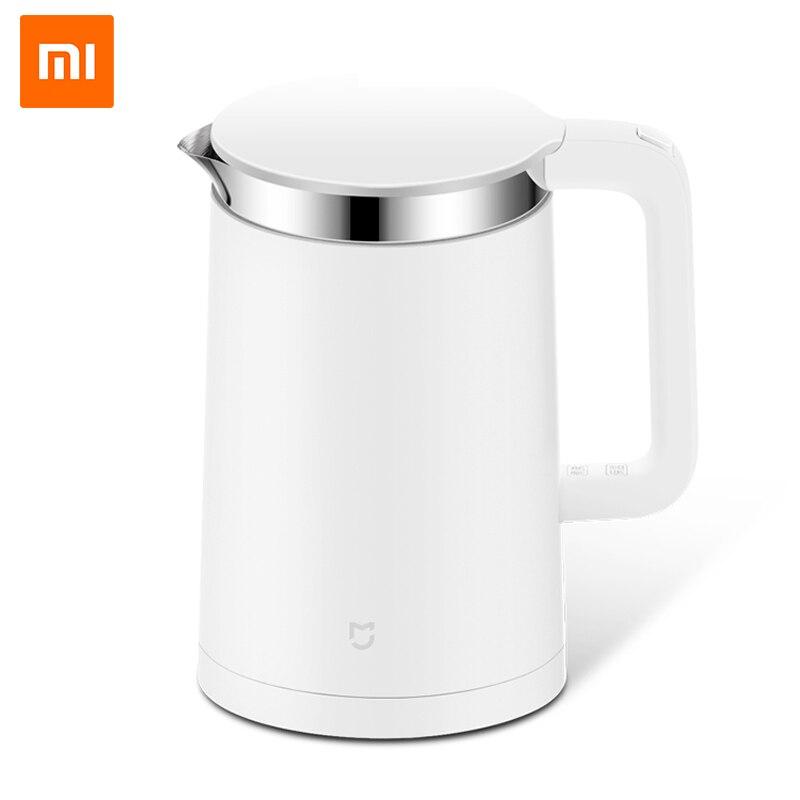 Оригинальный Xiaomi mijia Smart термостатический Электрический Чайники 1.5l 12 hour термостат Поддержка Управление с мобильного телефона App