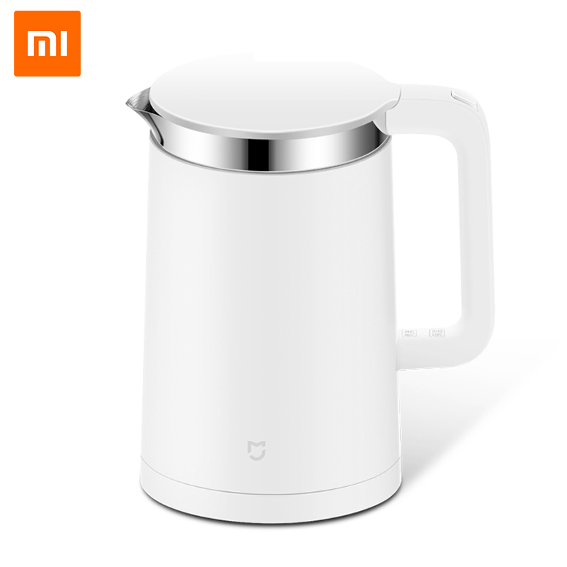 Original Xiaomi Mijia Smart Thermostatic Electric Water Kettles 1.5L 12 Hour Thermostat Support Control with Mobile Phone APP taie thermostat fy800 temperature control table fy800 201000