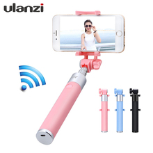 NEW Super Mini Wired/Wireless Bluetooth Selfie Stick Handheld 270 Degree adjustable for iOS and Android Phones (Pink/Blue/Black)