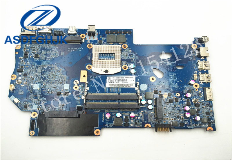 Laptop Motherboard 6-77-p151sma0-d03a FOR Hasee FOR Raytheon FOR CLEVO P151SM Motherboard 6-71-P15S0-DA3A 100% tested ok