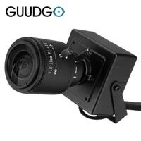 720P 1 0MP Mini IP Camera ONVIF 2 8 12mm Manual Varifocal Zoom Lens P2P With