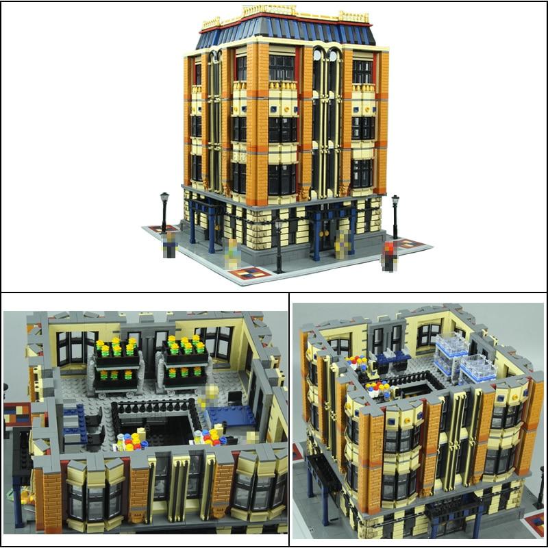 Lepin 15016 7968pcs MOC Creative Creators Series The Apple University Building Blocks Bricks Toys for childrenGiftsGifts