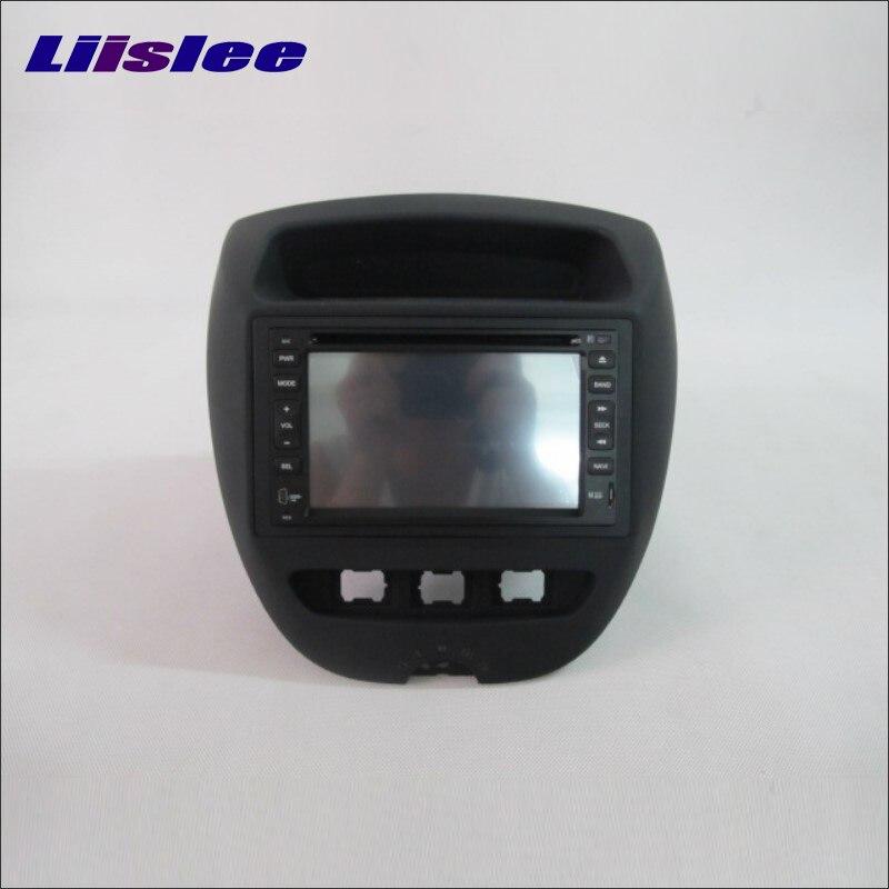 Liislee For Peugeot 107 2005~2013 Radio CD DVD Stereo Player GPS Navi Navigation System Double Din Car Audio Installation Set