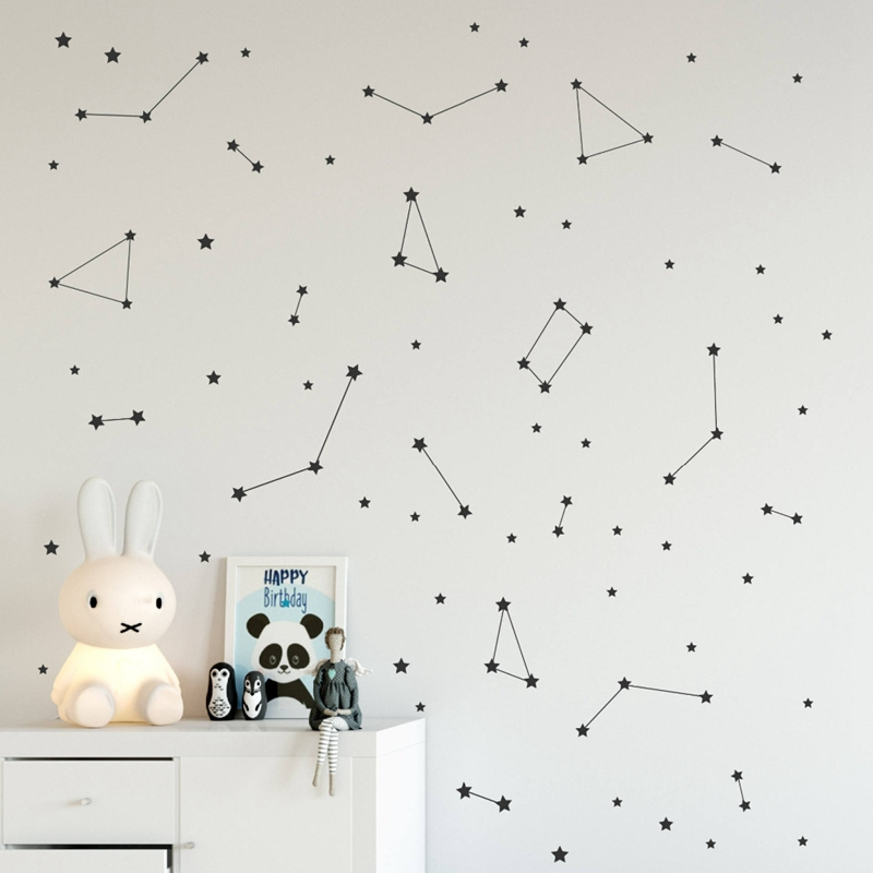 Constellation Stickers Baby Room Wall Decoration