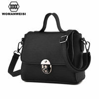 2018 New Arrival Fashion Small Women Messenger Bags PU Leather Women Shoulder Bag Over Bag Female Handbag Mini Ladies Hand Bag