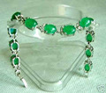 XFS2665>>>Rare green jade bangle bracelet