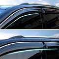 Window Visors Shades Vent Shade Visor Rain Guards For Jeep Compass 2011-2016 2011 2012 2013 2014 2015 2016 [QPA350]