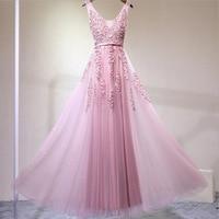 Elegant Silver/Burgundy Lace Tulle Long Dresses For Wedding Party Summer V neck Prom Formal Dress 2018 Maxi Dresses vestidos