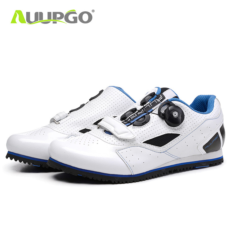 Non-lock leisure road bike cycling shoes good loculated MTB mountain bike shoes men women 540g 620g breathable non-slip