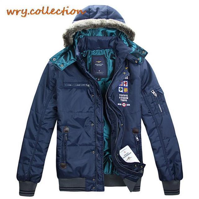 Aeronautica Militare Coat Italy Brand Jackets Winter Jacket Man