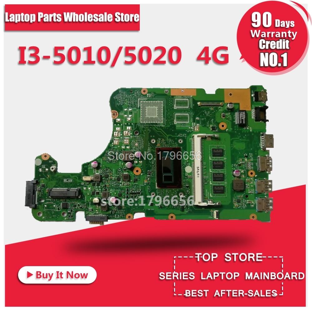X555LA REV:3.6/I3-5010 4GB RAM laptop motherboartd for ASUS X555LD X555L W519L VM501L FL5800L FL5600L R556L R557L motherboard