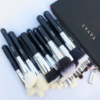 YAVAY 25 MAKEUP BRUSHES PROFESSIONAL SET BLENDING PREMIUM ARTIST Make Up Brushes Beauty Tool Kit