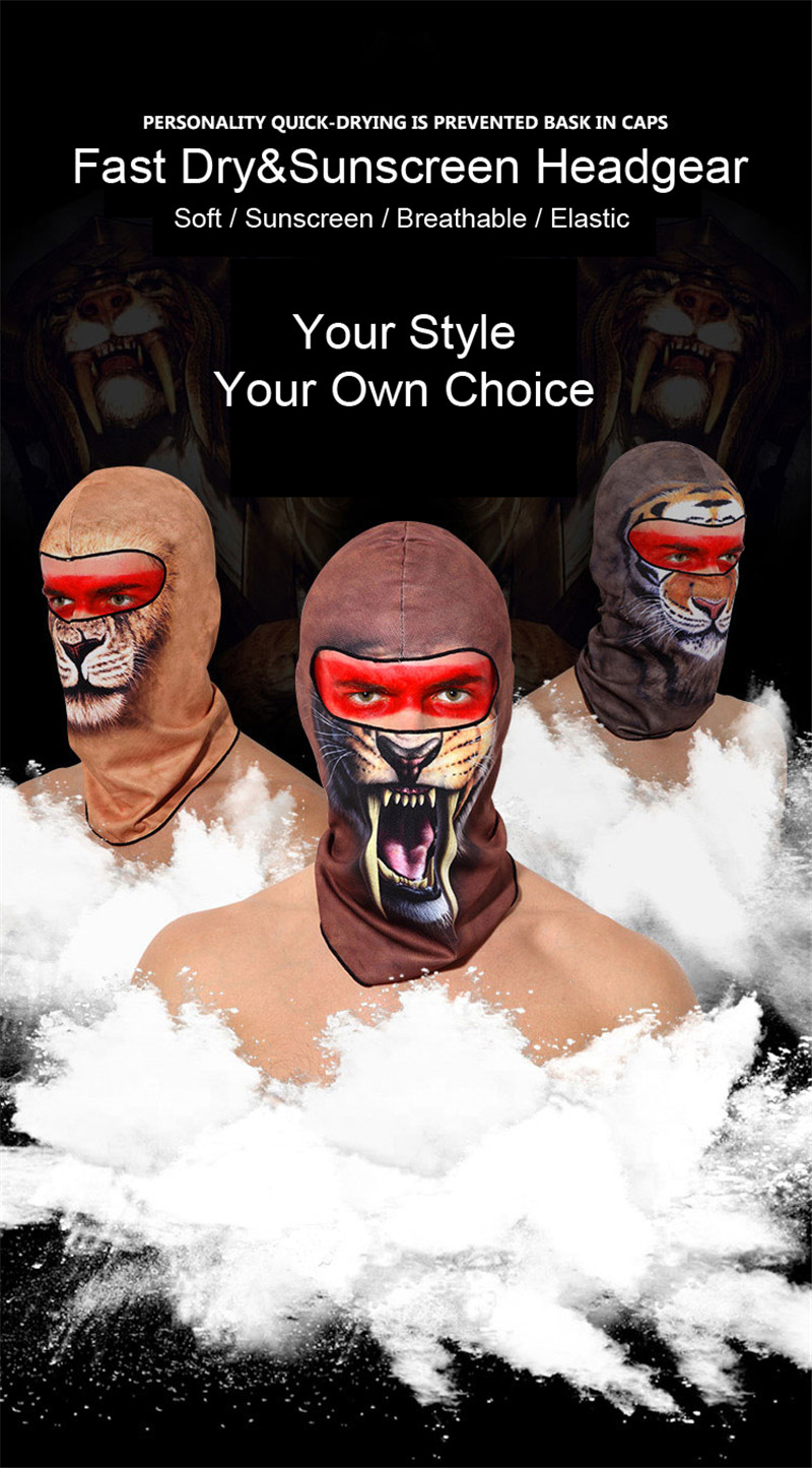 505846ad85a Details about SUPERBIKE® Balaclava Hat Cover Motorcycle Headgear Scarf  Helmet Full Face Mask