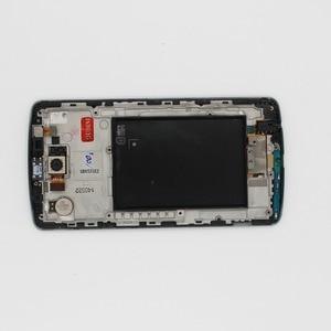 Image 3 - Oudini 100% מקורי עבור LG G3 LCD מסך מגע Digitizer עם מסגרת החלפת המקורי D850 D851 D855 lcd יש מצלמה