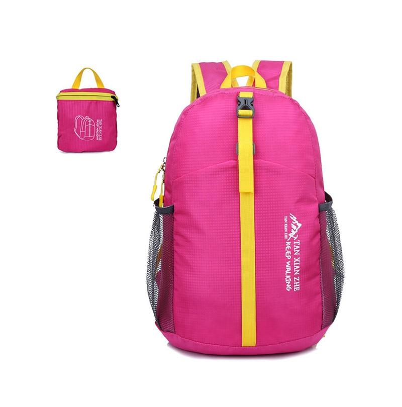 Hot Sale Waterproof Folding Travel Sport Bag Lightweight Camping Hiking Backpack School Bag Women&Men Beach Tourist Backpacks