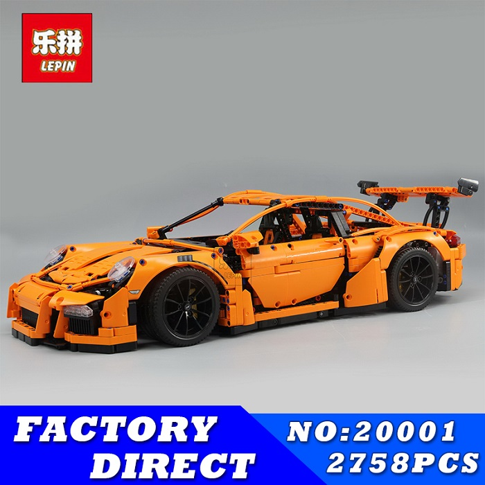 lepin 20001 20001B technic series 3368 race car bricks Compatible with 42056 model building kits blocks toys for boys best gift
