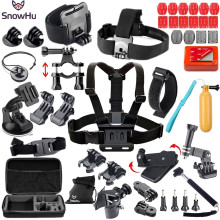 For GoPro Accessories Harness Adjustable Elastic Chest Belt Head Strap for Hero4 3 3+ sj4000 Xiaomi yi GS50
