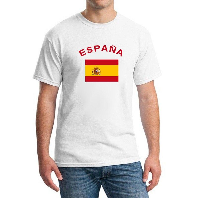 ツ)_/¯BLWSHA España Fans Cheer Bandera Nacional camisetas o-cuello ...