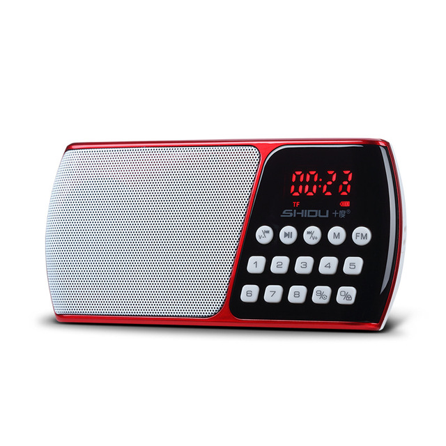 Juke box FM radio card TF intellignet decodificación digital palyer