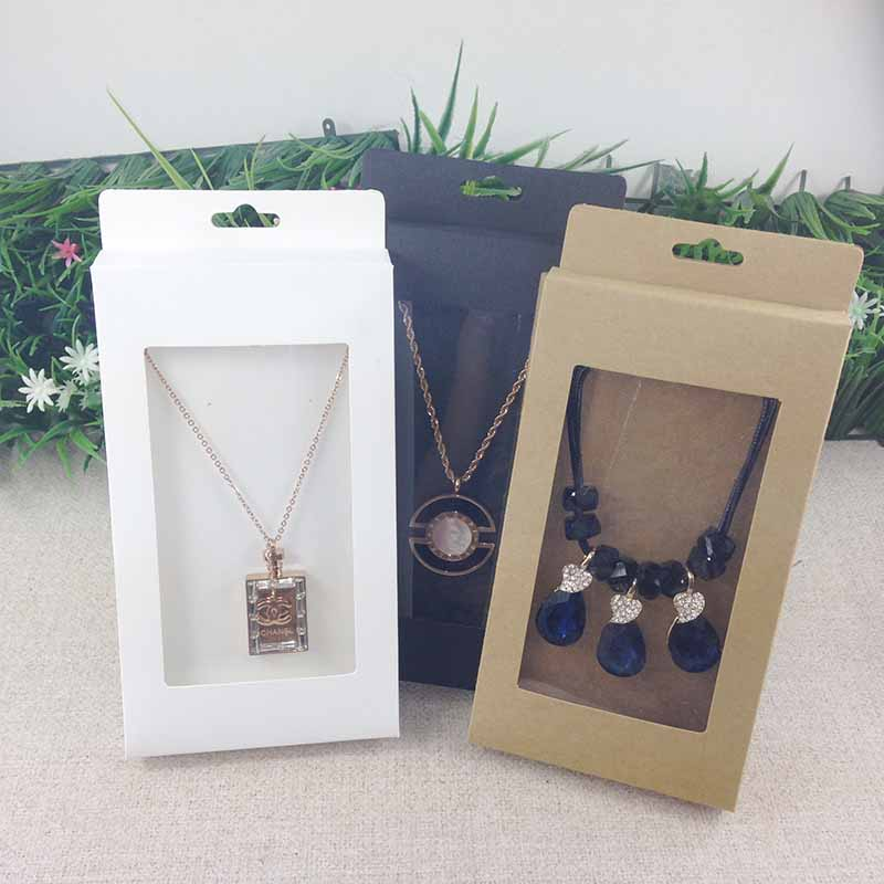 Image 5 - 2016  New Necklace Card Box   1Lot =50box  50 pcs inner Card  18x10x2cm Necklace Box Gifg BOX  Pendent  Box / Earring Casependente  boxeearrings casenecklace box