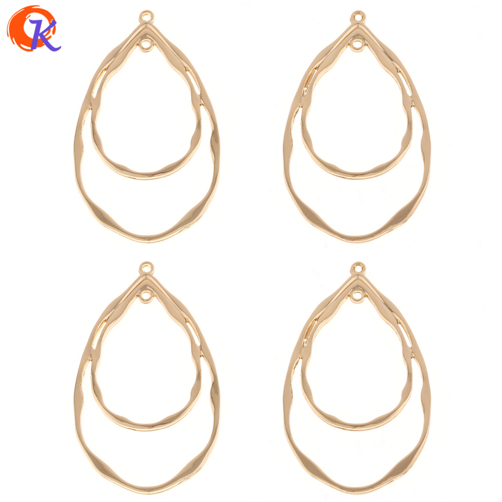 Cordial Design 50Pcs 29*48MM Jewelry Accessories/Earrings Jewelry Making/Drop Shape/Zinc Alloy/Hand Made/Earring Findings