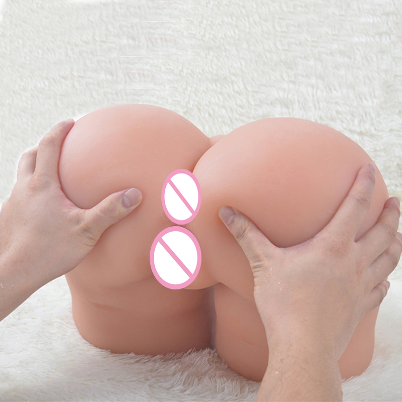 Silicone pussy Ass Male Masturbator japan silicone big ass vagina anus Sex Doll real For Men 3D  realistic solid sex dolls torso high quality cheap low price full silicone mini sex fake ass doll for men masturbation with realistic pussy vagina and anus