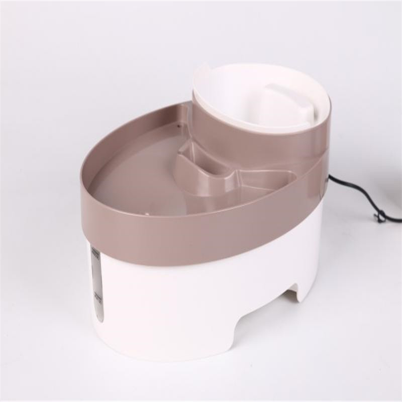 3 in 1 Pet Water Fountain Cat Dog Automatic Food Bowl Dish Dispenser LED Lights Feed Feeding Bowl