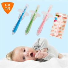 New Safe Soft Bristle Kids Baby Teether Deciduous Teeth Toothbrush Environmental Dental Oral Care for Babies