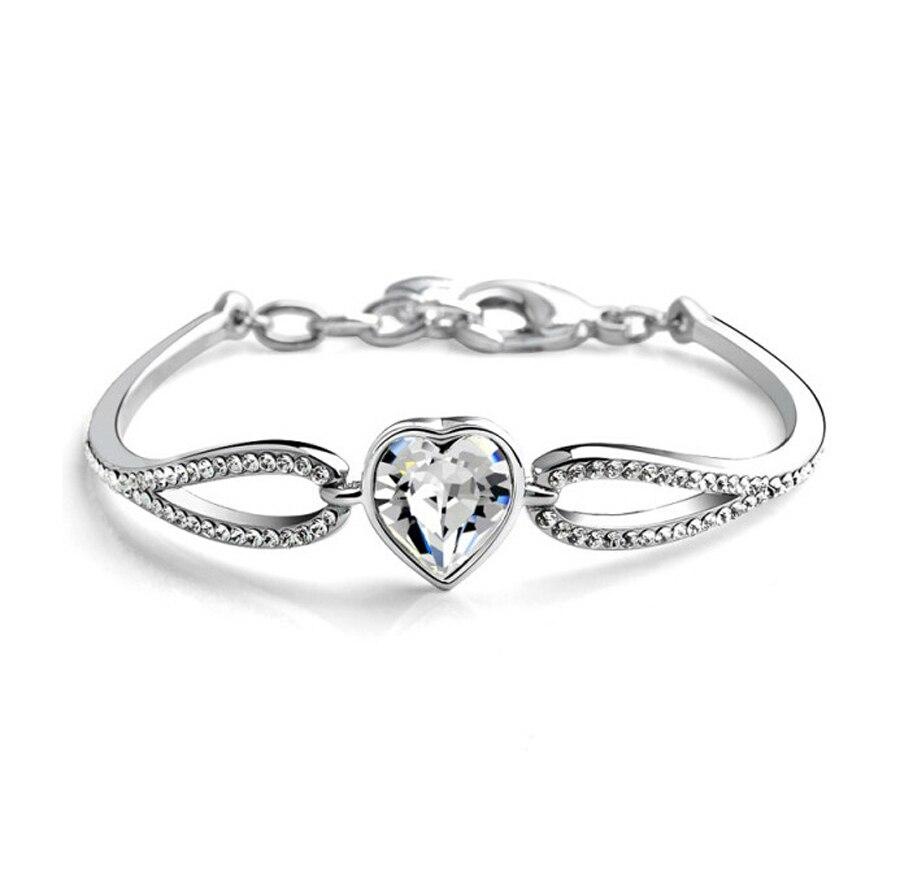 Crystal ehted tehas Yiwu väliskaubanduse ehted Austria Crystal Heart - Mood ehteid - Foto 6