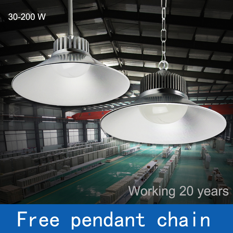 Lights & Lighting Smart D 30-45cm Ac100-240v 30-200w Industrial Lights Brightness Engineering Lamp Led Pendant/ceiling Light With Chain Droplight 100w