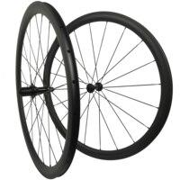 Roues en carbone 266g Soloteam R13 38mm 45mm 50mm 60mm 88mm roues de vélo en carbone 700C pneu de vélo de route 700c * 23/25mm paire de roues en carbone