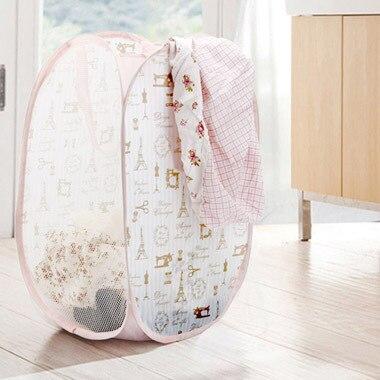 Aesthetic Fashion Dirty Clothes Storage Foldable Laundry Basket Baby