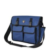 Multifunctional Thicken Tool Bag Electrician Tool Bag Men Work Kit Bag Blue Free Shipping