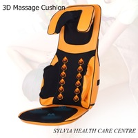 Heath care machines Comfortable shiatsu Air Press kneading massage cushion with heat neck and back kneading massager cushion