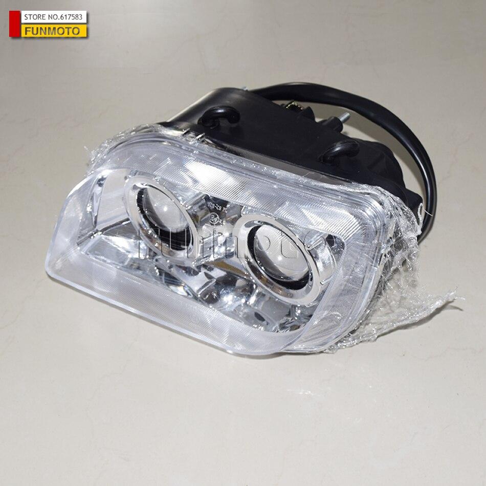 front left headlight of CF500-2 ATV parts number is  9020-160110 front left