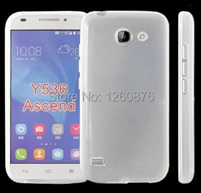 Cunzhi Лидер продаж Чехол Мягкий силиконовый чехол для Huawei Ascend y536 сотовые телефоны (подарок стилус)