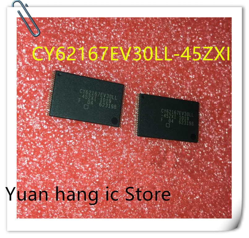 Free Shipping 10PCS/LOT New Original CY62167EV30LL-45ZXI CY62167EV30LL CY62167 TSOP-48 TSOP IC In Stock
