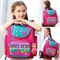 Fashion Brand 1-3 grade orthopedische school tassen satchel voor jongens meisjes Gevouwen Kinderen Basisschool Rugzak Mochila Infantil