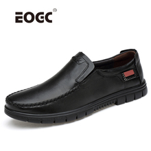 Genuine Leather Men Shoes Handmade Plus Size Diving Shoes Two Style Men Casual Shoes With Fur Spring And  Winter Shoes Men