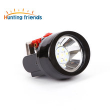 12pcs/lot New Safety Miner Lamp KL2.8LM Rechargeable 1+ 3 LED Mining Cap Light waterproof camp lamp Explosion Rroof Headlight