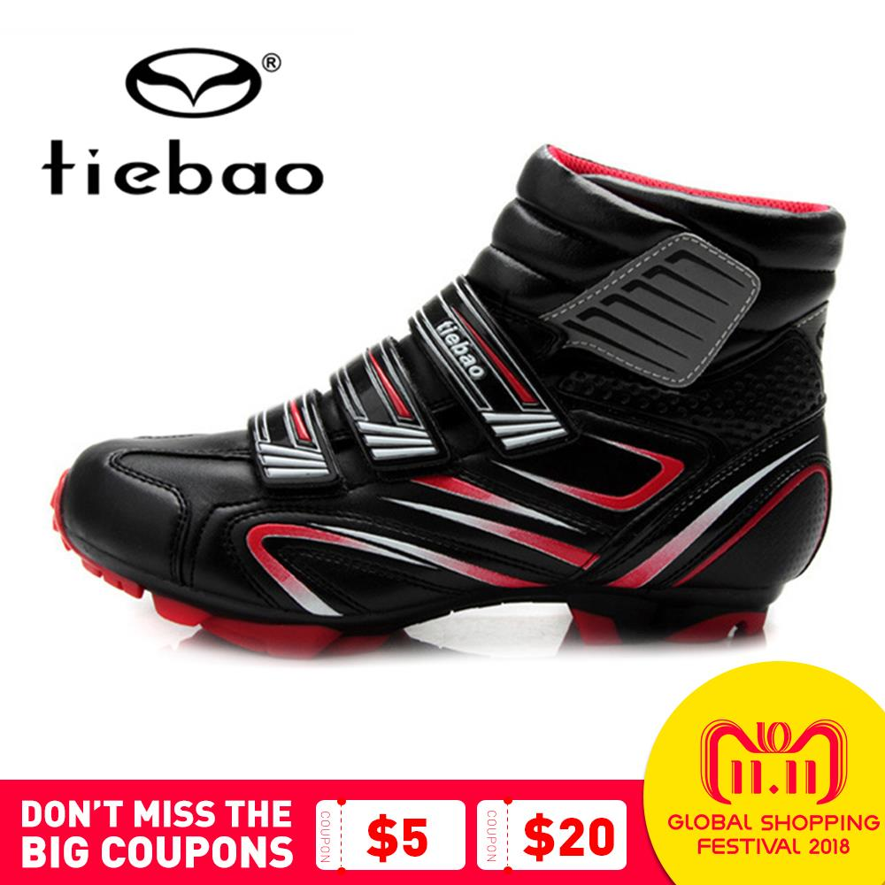TIEBAO Mtb Shoes Bicycle Cycling Shoes Zapatillas Ciclismo MTB Mountain Bike Racing Shoes Athletic Self-Locking Sneakers Boots tiebao professional men bicycle shoes athletic racing mtb cycling bike mountain self locking shoes zapatillas ciclismo