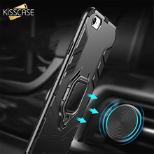 KISSCASE Case For iPhone XR XS Max Armor Shockproof Cases For iPhone X 6 6s 7 8 Plus 5 5s SE TPU PC Double Protection Coque Capa чехол rock tpu pc guard series для iphone 7 plus 5 5