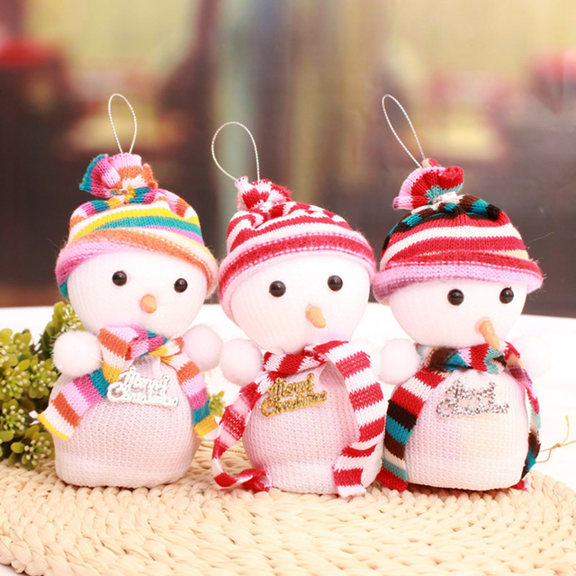 3pcs christmas decoration snowman apple box gift bags 2016 new year