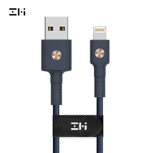 цена на ZMI 1m 2m 0.3m For Lightning MFi Certified, PP Braided Sleeve magnetic For iPhone+Ipad Data Cable Charging Cable Charge Cable