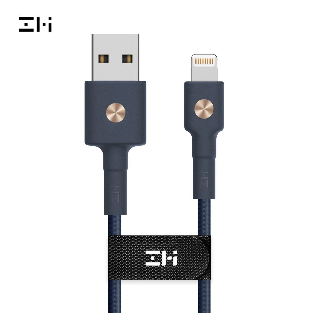 ZMI AL803 AL833 AL823 Premium to USB Cable MFi Certified PP Braided Sleeve for Charging and